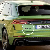 Audi 純正品 RS Q8 ロゴ グロスブラック リア エンブレム / RSQ8