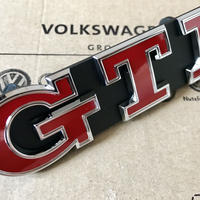 VW  純正 Golf 7 GTI Performance グリル エンブレム (レッド)