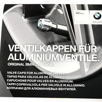BMW 純正 アルミエアバルブ用キャップ