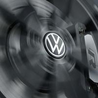 VW 純正品 New ロゴ ダイナミック ハブキャップ  ゴルフ8 ゴルフ7