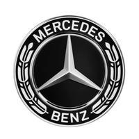 Mercedes-Benz 純正品 ブラックローレルリース ホイールセンターキャップ  ( ハブキャップ ) A2224002200