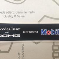 Mercedes-Benz  AMG 純正 Mobil1 ステッカー
