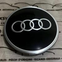 Audi 純正品 ブラック ホイール センターキャップ (ハブキャップ) A3 8V A4 8W A5 B9 A6 4A A7 4K Q2 Q3 F3 Q5 FY Q7 Q8 4M