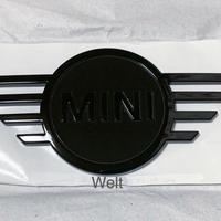 BMW MINI 純正品 F54 LCI ミニ クラブマン ピアノブラック ボンネット エンブレム