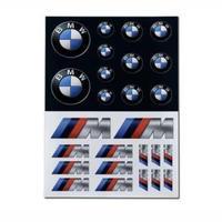 BMW 純正品 BMW & M エンブレム ステッカー