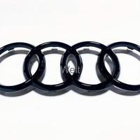 Audi 純正品 RS4 RS5 B9 後期 フロントグリル グロスブラック 4リングス エンブレム / アウディ A4 S4 8W A5 S5 F5