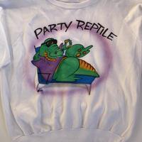 Airbrush Reptile Sweatshirt