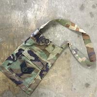 remake us army  camo shoulder bag with cargo pocket