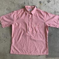 80's Christian Dior stripe pullover shirt