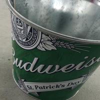 Bud wiser Metal bucket