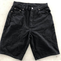 POLO Jeans black denim shorts