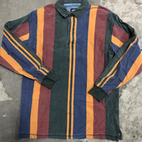 90s Woolrich Striped Multi Colored Long Sleeve Shirt