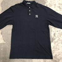 New York Yankees Embroidered L/S Polo