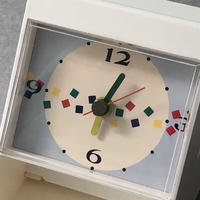 stand  clock with tape cutter