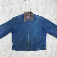 BIG BEN  Denim  Zip Up Work  Jacket  Blanket Lined