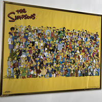 THE SIMPSONS  poster w flame