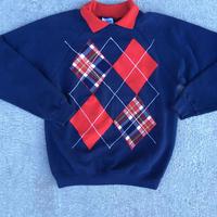 Hanes vintage sweatshirt w collar