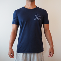 オリジナル メンズ ロゴTシャツ(大波)