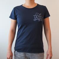 オリジナル レディース ロゴTシャツ(大波)