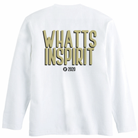 WHATTS INSPIRIT オリジナルロンT/イエロー