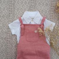 cotton100サロペブルマ