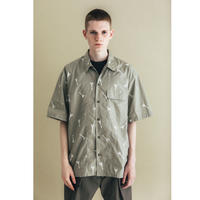 "nuterm / ""Albert""  Printed Work Shirt"