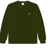 W.O.E '3' dry a-green longT-Shirt