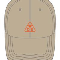 W.O.E '3' cotton low cap