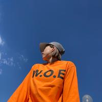 W.O.E BASICorangeLongT-Shirts