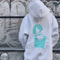 【再入荷】WOMEN LOGO PARKER / WHITE MINT