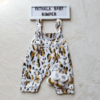 Fathala baby rompers  / ( ファタラ) ベビーサロペット