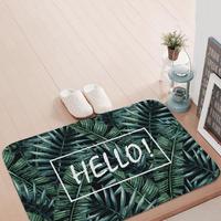 Jungle print door mat / ハロープリントドアマット