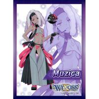 ムジカ 限定カードプロテクト「ウィクロスTCG ブースターパック GLOWING DIVA [WXDi-P01]」 BOX購入特典