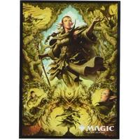 エンスカイ マジック:ザ・ギャザリング プレイヤーズカードスリーブ 『ゼンディカーの夜明け』 《影さす太枝のニッサ》 (MTGS-147)