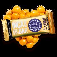 インカベリーバー ココナツとアーモンド Inca Berry - Coconut & Almonds (10個入りパック)