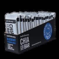 【送料無料】チアバー ブルーベリーとマヌカハニー Chia Bar - Blueberry and Manuka Honey  (20個入りパック)