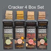 【送料無料】ヘルスディスカバリークラッカー(4種セット) Health Discovery Cracker (4 Box Set)