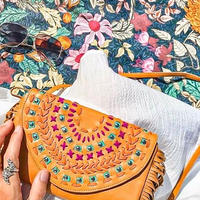 WS - Sacred Leather Clutch