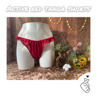■ACTIVE RED■エシカルタンガショーツ