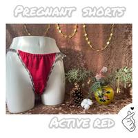 ■ACTIVE RED■ 妊婦さんショーツ