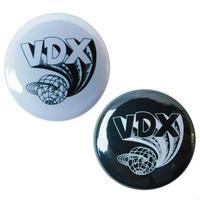 VDX / 缶BADGE (丸型25mm)