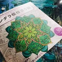 【おうち時間】マンダラ模様塗り絵