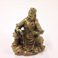 関羽様(読書)