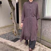 universal tissu アソートパターン フレアシャツドレス