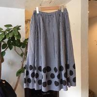 grin ブロードドット スカート