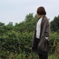 LAPUAN KANKURIT ポケットショール MARIA ブラウン/ブラック