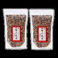 【フェルマ木須】三色米500g×2袋