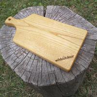 wildoutdoor グリップ付きカッティングボード 栗