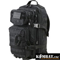 Kombat.UK スモールモールアサルトパック 28L BLACK リュックサック バックパック
