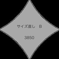 『サイズ直し B』